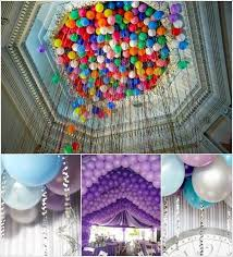 Balloon Ceiling Decor 5 Balloon Wedding Decor Ideas That Are Just Fabulous