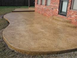 Sted Concrete Patio Designs Diy Concrete Stain Patio Home Design Ideas And Pictures