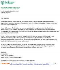 hm revenue u0026 customs refund of overpayments phishing scam