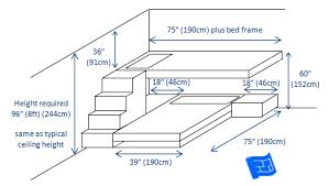 Bunk Bed Design Plans Built In Bunk Beds