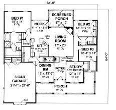 what is a split floor plan 655984 3 bedroom 2 bath country farmhouse with split floor plan