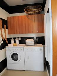 striped laundry room by jaimee rose home sweet home