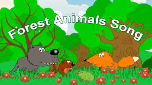 forest animals song for kids learning english from early