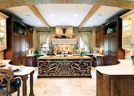 mediterranean style home interiors kitchen large mediterranean style kitchen architect designed