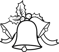exciting bell ornament merry coloring page