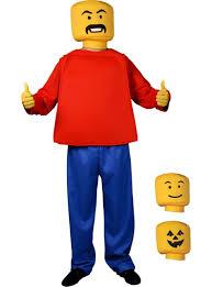 Lego Ninjago Halloween Costume Custom Block Head Costume Party Didn