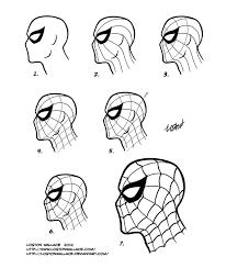 spider man mask tutorial by lostonwallace on deviantart