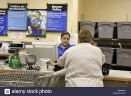 Customer Service Desk Florida Hialeah Walmart Customer Service Desk Return Policy Posted