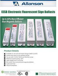 ballasts allanson eesb electronic em plastic u0026 electric products