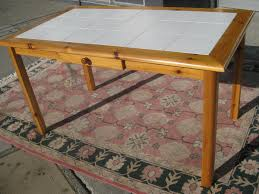 tile top dining room tables tile top kitchen table diy glass tile table top dining table with