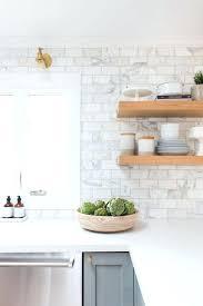 Carrara Marble Subway Tile Kitchen Backsplash Marble Tile Backsplash Kitchen Medium Size Of The Kitchen Marble
