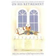 retirement card priest retirement card the catholic company
