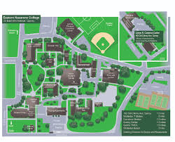 Boston College Campus Map by Eastern Nazarene College Campus Map
