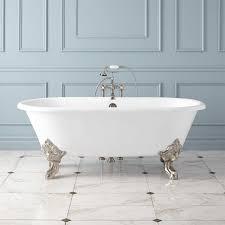 Clawfoot Tub Bathroom Design Cecilia Cast Iron Clawfoot Tub Monarch Imperial Feet Bathroom