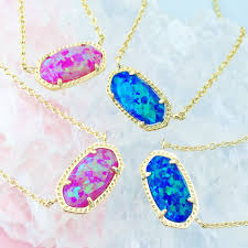pink opal necklace images Kendra scott elisa necklace in opal jewlery pinterest jpg