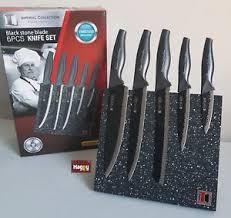 bloc de couteaux de cuisine professionnel bloc couteau de cuisine professionnel en inox 6 pc poele ceramique
