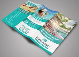 15 well defined travel brochure templates