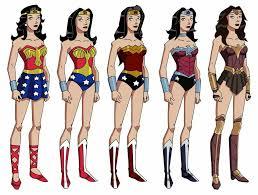 the evolution of wonder woman u0027s costume timelines pinterest