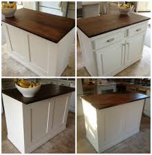 build your own kitchen island remodelaholic white kitchen overhaul with diy marble island