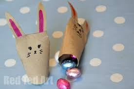 Easy Arts And Crafts For Kids With Paper - 20 cute bunny crafts for kids red ted art u0027s blog