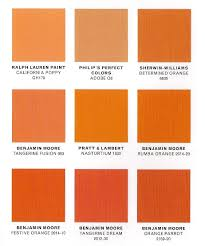 shades of red orange names clanagnew decoration