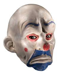 purge masks halloween city white hair clown halloween latex mask face fancy costume party