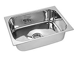 Jindal Kitchen Sink Stainless Steel Sink Size  X  X  Inches - Kitchen ss sinks