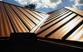 glass paint secret to keeping metal roofs cool on sunny days