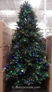 design pre lit led trees 7 5 ft cut led