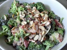 fresh broccoli salad made in s kitchen