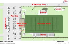 construction site plan in the construction to begin soon on field house sul