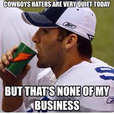 Dallas Cowboy Hater Memes - dallas cowboys haters but that s none of my business sports