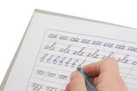 penmanship practice for adults a place to start for self teaching of cursive handwriting as an