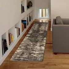 Plush Runner Rugs Contemporary Grey Luxury Trellis Shag Pile Runner Rugs