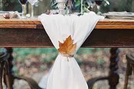 november wedding ideas 15 gorgeous leaf ideas for a fall wedding