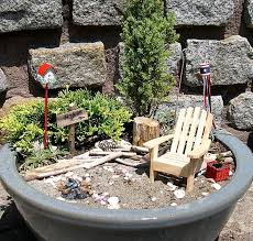 Garden Containers Ideas - miniature fairy garden containers ideas home inspirations