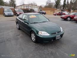Honda Civic 2000 Specs 2000 Clover Green Pearl Honda Civic Ex Coupe 70081702 Gtcarlot