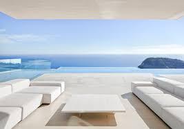 minimalism architecture porche con vistas al mar piscinas pool pinterest