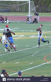College Flag Football Chris Brown Charity Flag Football Game At Jack Kemp Stadium At