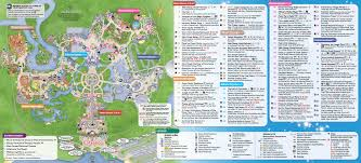 magic kingdom disney map june 2016 walt disney park maps photo 2 of 4