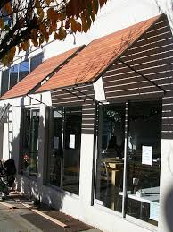 Outdoor Window Awnings And Canopies Thaihouse Express Wood Slats Awnings Over Windows Wood Slats