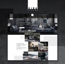Award Winning Interior Design Websites by King Living Responsive Website Silver Winner 2017 Sydney