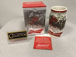 Metal Budweiser Cooler by 2017 Budweiser Annual Holiday Stein The Beer Gear Storethe Beer