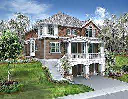 multi level house plans house plans walkout basement view house plans sloping lot house