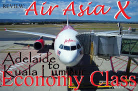 airasia review review air asia x adelaide to kuala lumpur economy class