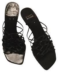 Stuart Weitzman Comfort Stuart Weitzman Black Sandals On Sale 60 Off Sandals On Sale