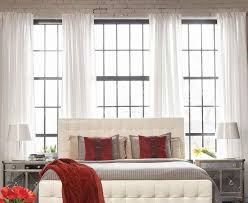 Cool Loft Interior Bedroom With Furniture Idea Of Padded Cushion Bed