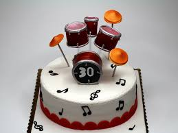london patisserie birthday cake for drummer london