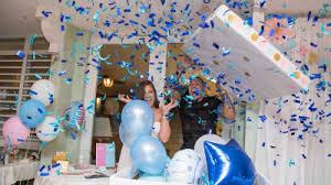 gender reveal party it s a boy cubs infielder javier baez hosts gender reveal party