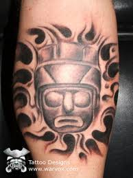 soldier face tattoo u20aa aztec tattoos u20aa aztec mayan inca tattoo